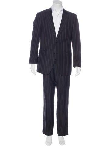 Dolce & Gabbana Virgin Wool Two-Piece Suit None
