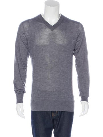 Dolce & Gabbana Knit V-Neck Sweater None