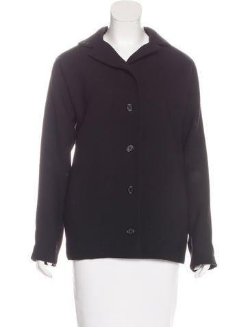 Dolce & Gabbana Wool Collared Jacket None