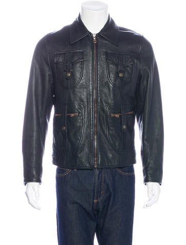 Dolce & Gabbana Lambskin Moto Jacket None