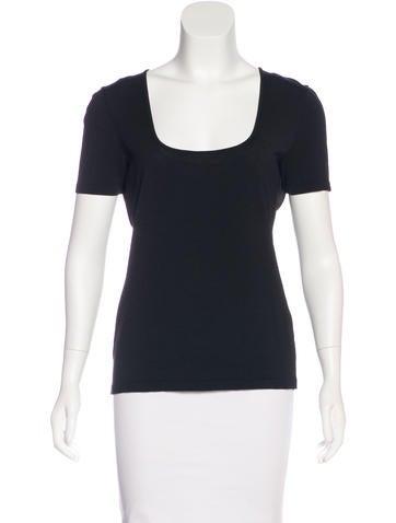 Dolce & Gabbana Short Sleeve Knit Top None