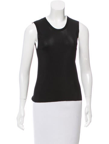 Dolce & Gabbana Sleeveless Knit Top None