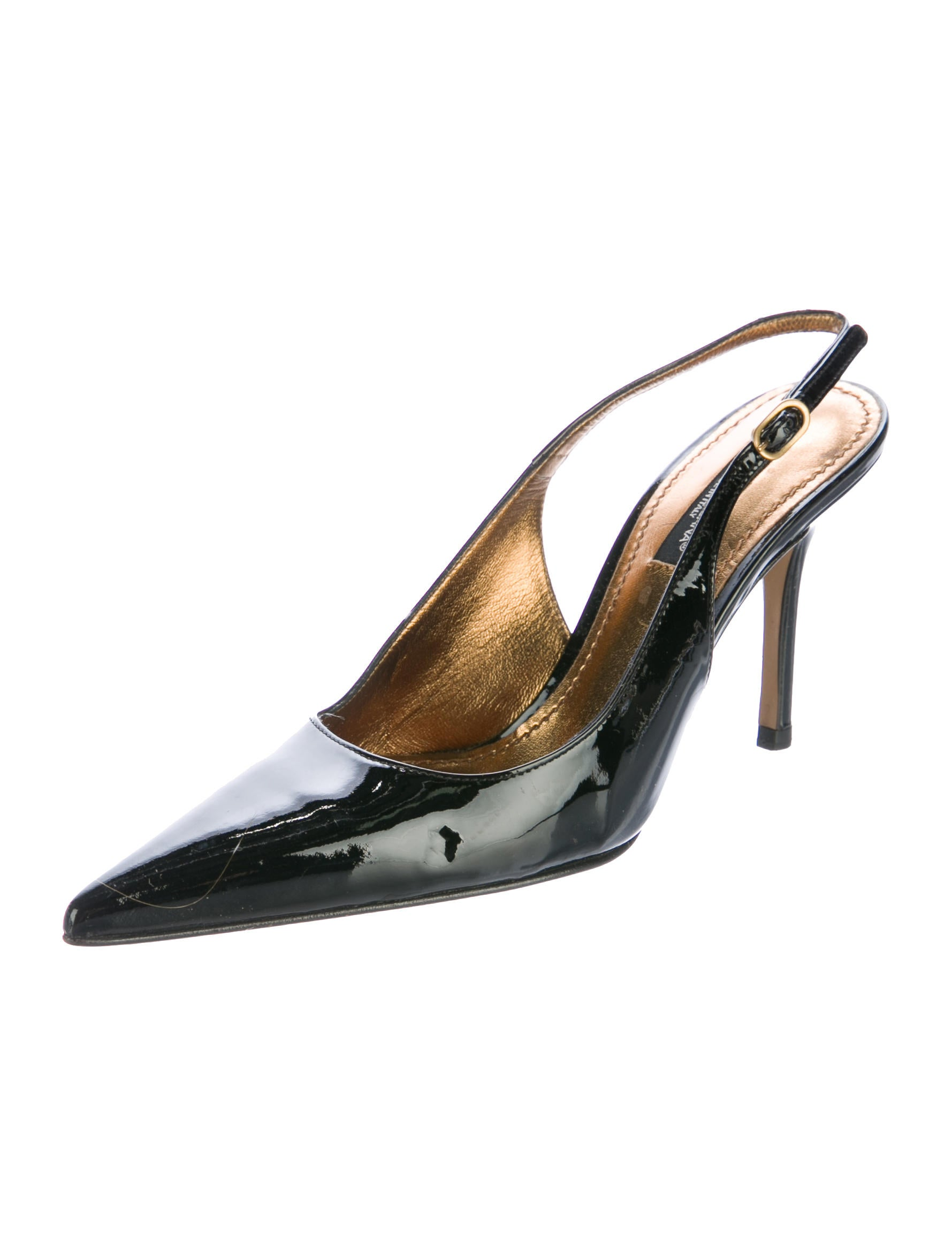 Dolce & Gabbana Pointed-Toe Slingback Pumps - Shoes - DAG86057 | The RealReal