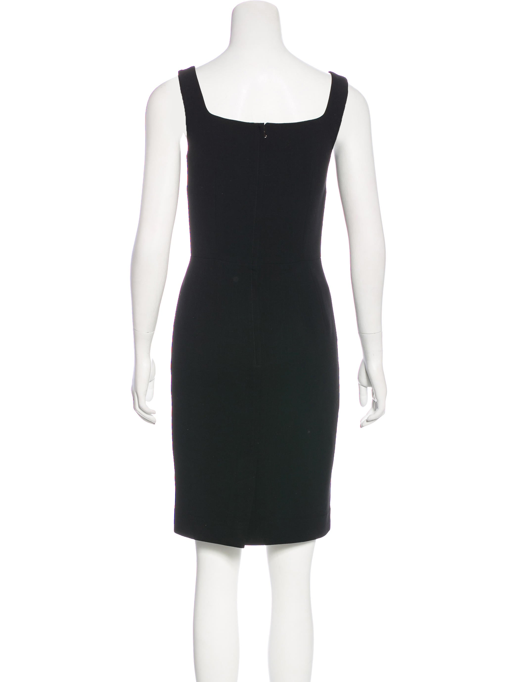 Dolce Amp Gabbana Sleeveless Mini Dress Clothing