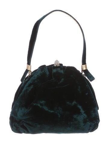 Dolce & Gabbana Velvet Evening Bag None
