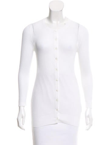 Dolce & Gabbana Long Sleeve Sheer Top None