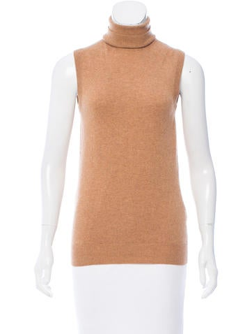Dolce & Gabbana Cashmere Sleeveless Turtleneck None