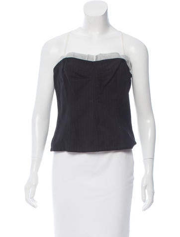 Dolce & Gabbana Sleeveless Wool Top None