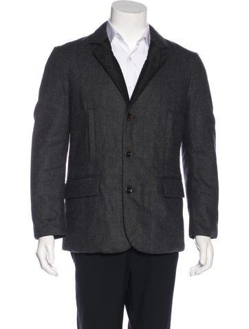 Dolce & Gabbana Wool Reversible Sport Coat None