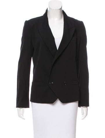 Dolce & Gabbana Structured Wool Blazer None