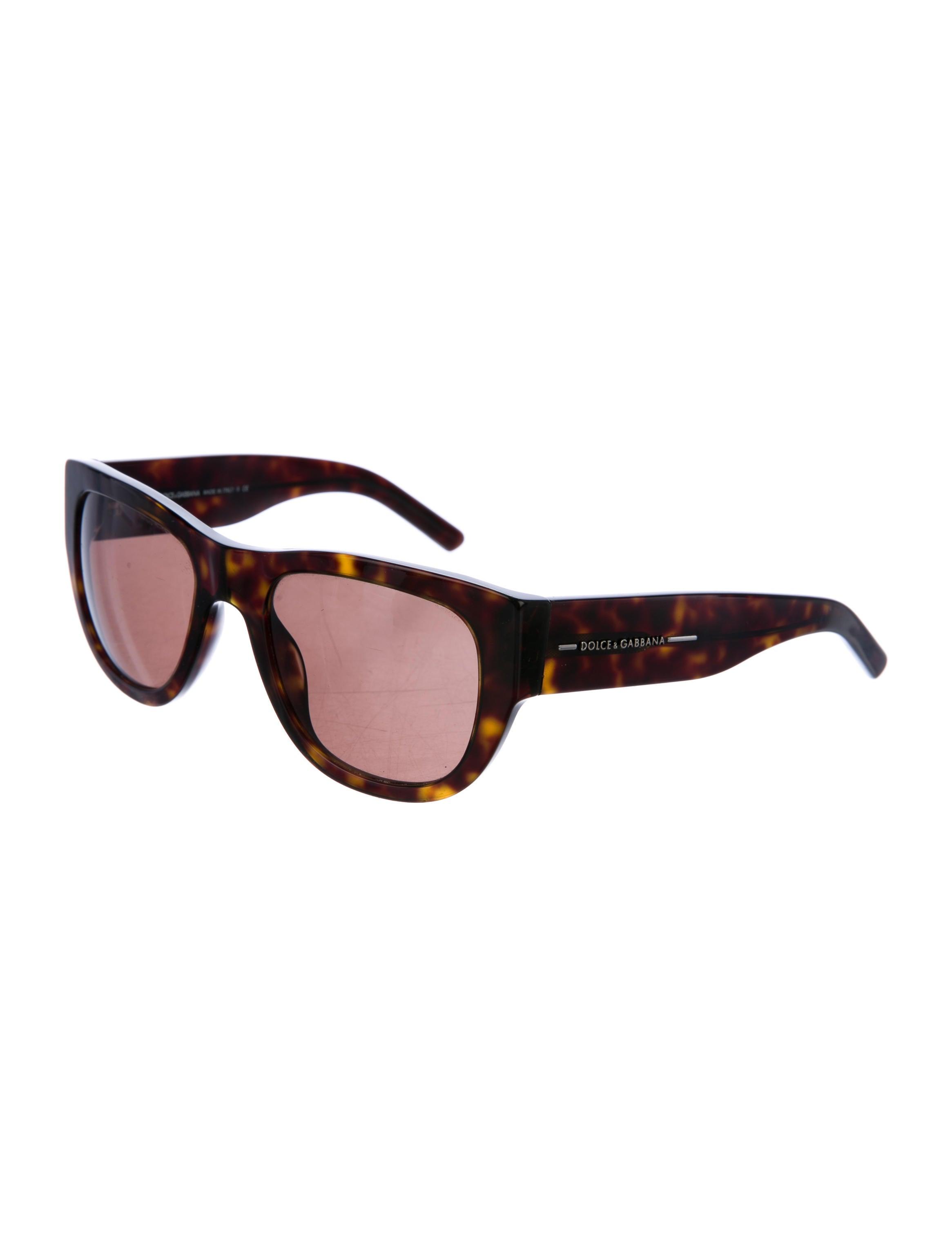 ad31535e3c71 Dolce   Gabbana Tortoiseshell Tinted Sunglasses .