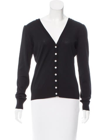 Dolce & Gabbana Button-Up Long Sleeve Cardigan None
