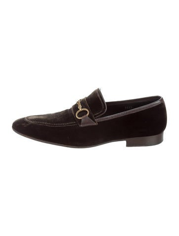 Dolce & Gabbana Velvet Smoking Slippers None
