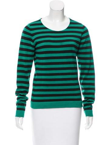 Dolce & Gabbana Cashmere Striped Sweater None