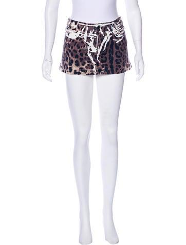 dolce gabbana printed denim skirt clothing dag88750