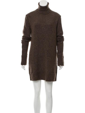 Dolce & Gabbana Wool Long Sleeve Dress None