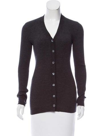Dolce & Gabbana Long Sleeve Button-Up Cardigan None