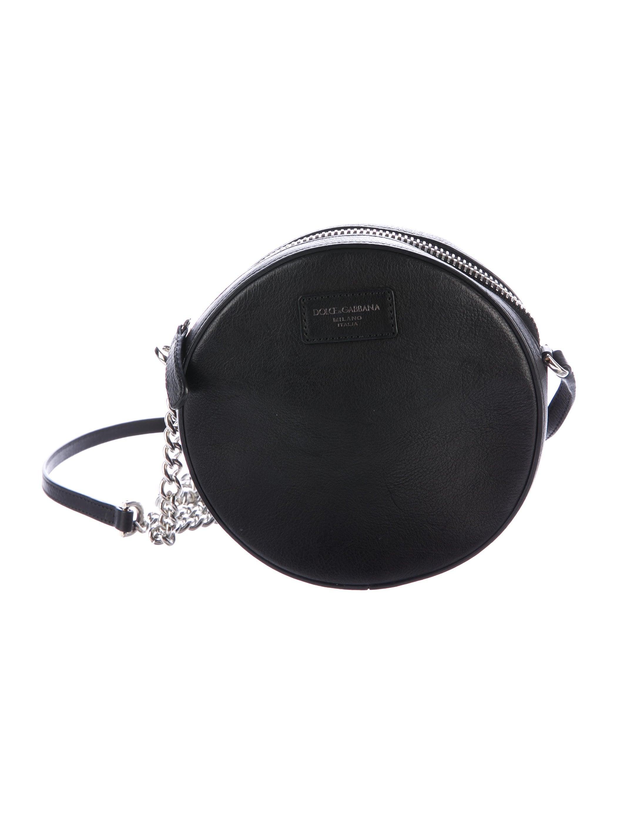 97829bbc6bcc Dolce   Gabbana Round Sling Bag - Handbags - DAG89049