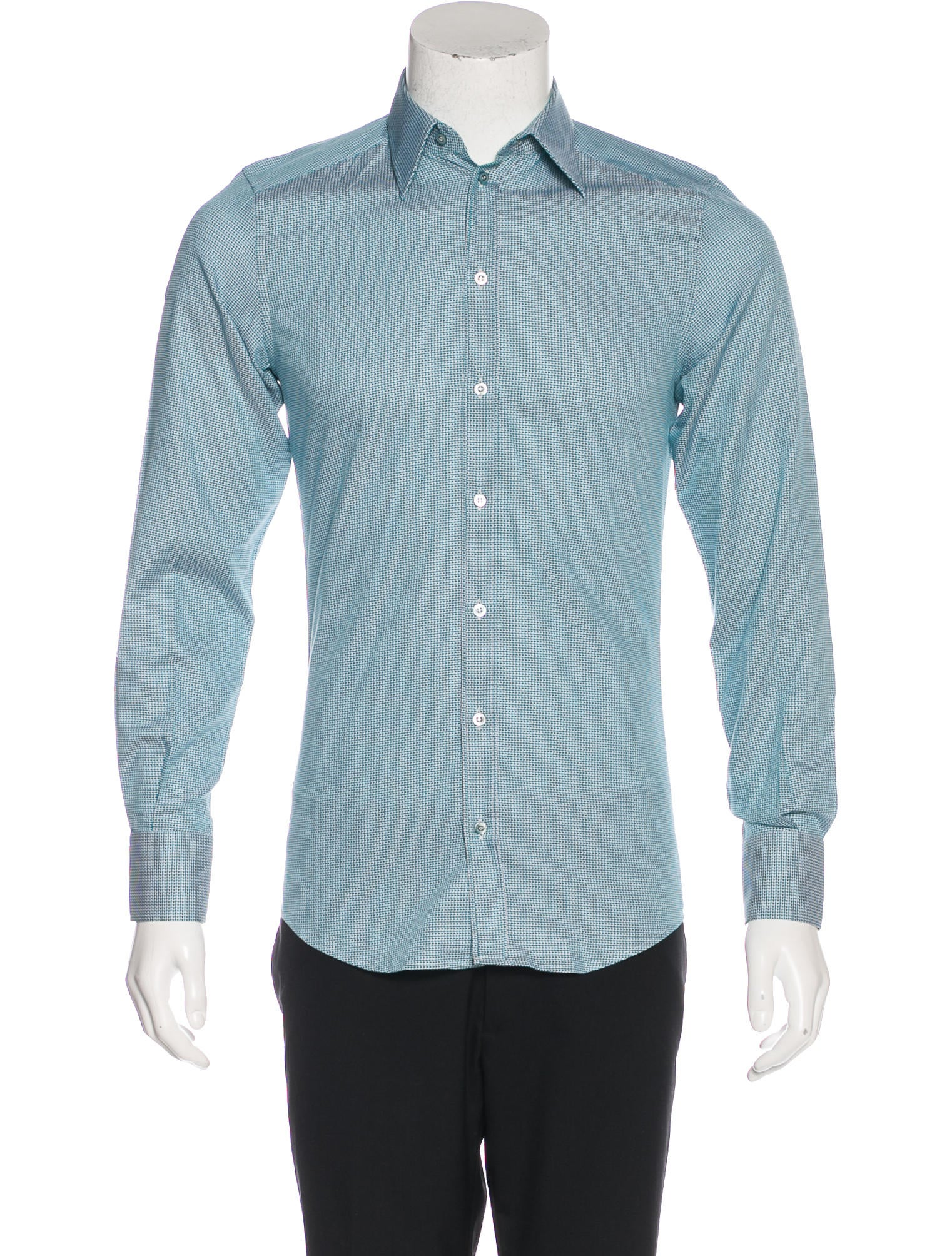Embroidered Mens Dress Shirts 9
