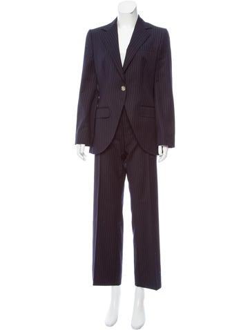 Dolce & Gabbana Wool Mid-Rise Pantsuit None