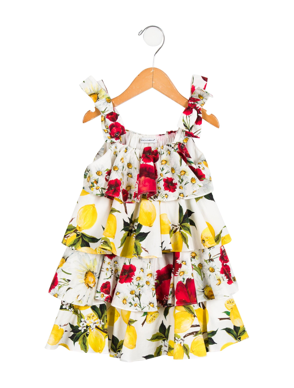cbe1a8cffa31 Dolce & Gabbana Girls' Lemon Print Dress - Girls - DAG89970 | The ...