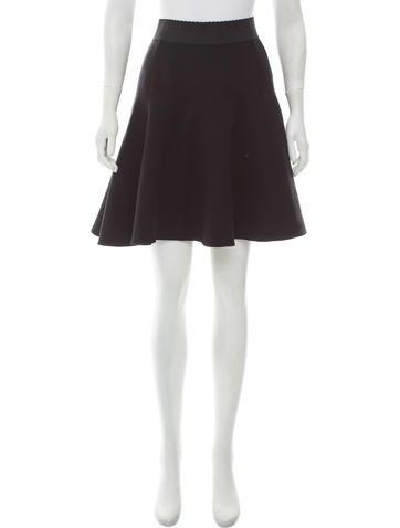 Dolce & Gabbana Wool Circle Skirt None