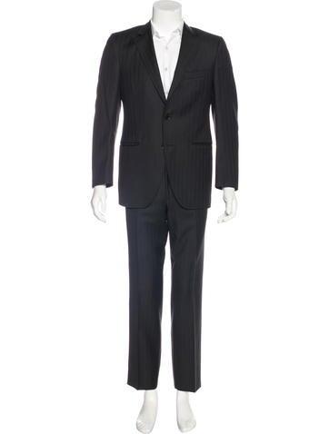 Dolce & Gabbana Virgin Wool Striped Suit None