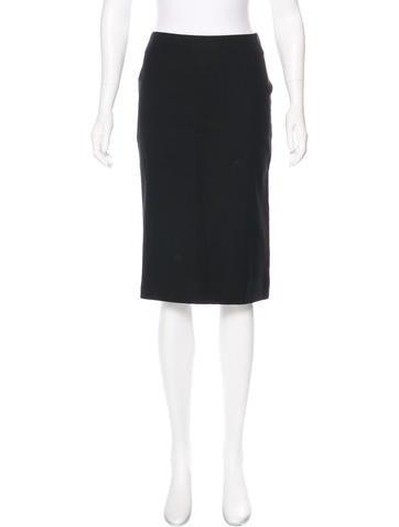 Dolce & Gabbana Knee-Length Wool Skirt None