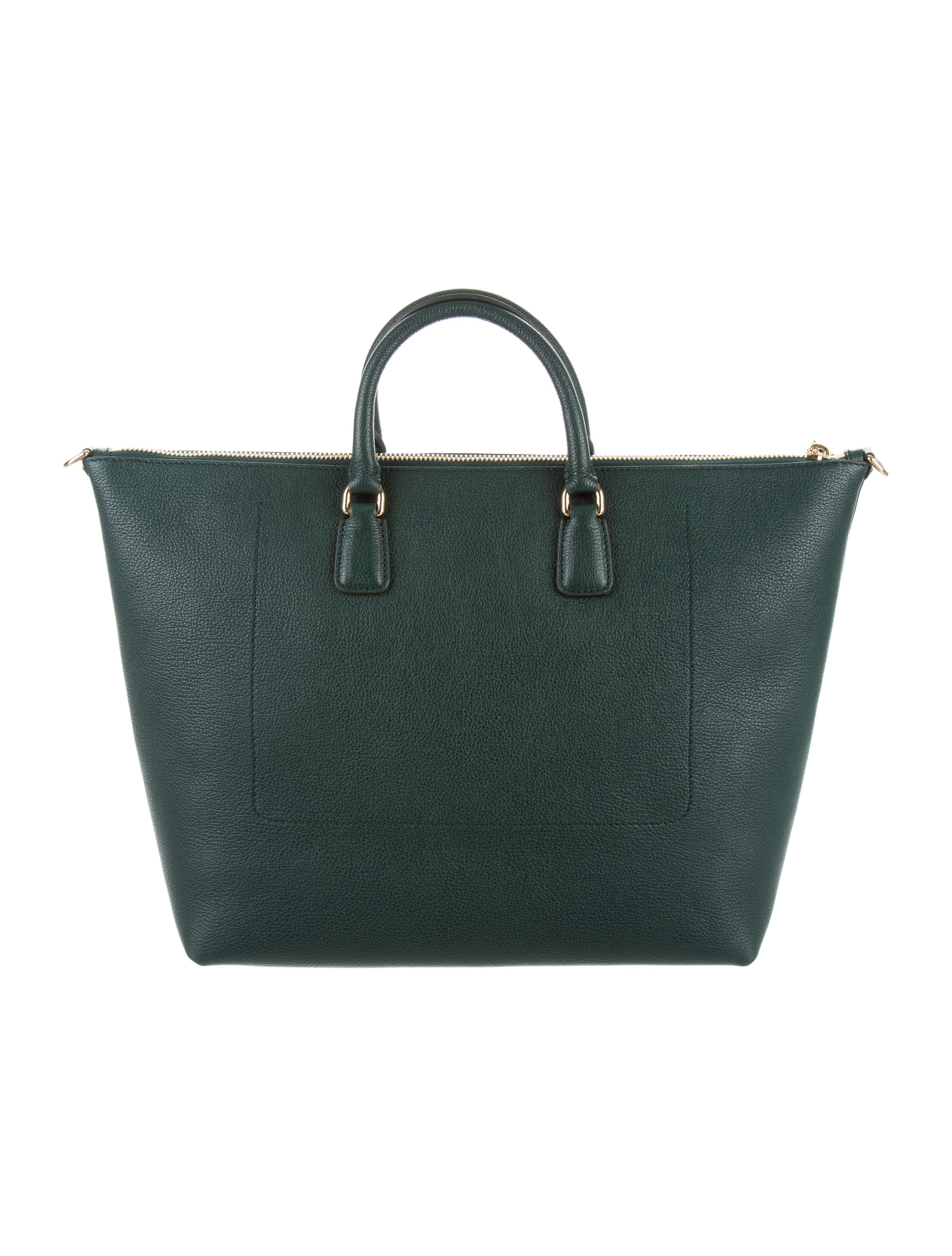 6aa1d8f16276 Dolce   Gabbana Pebbled Leather Satchel - Handbags - DAG91112