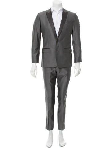 Dolce & Gabbana Wool Martini Tuxedo None
