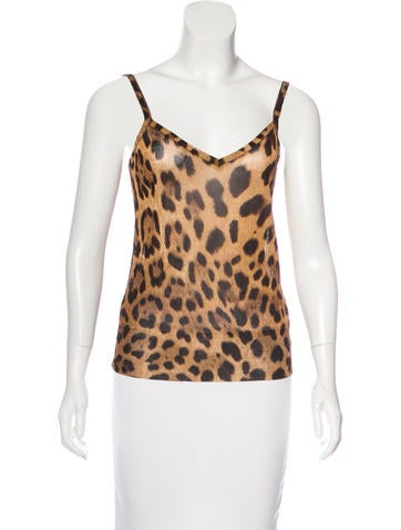 Dolce & Gabbana Knit Printed Top None
