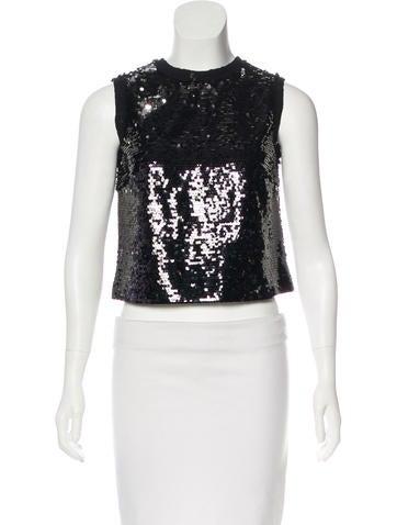Dolce & Gabbana Embellished Sleeveless Top None