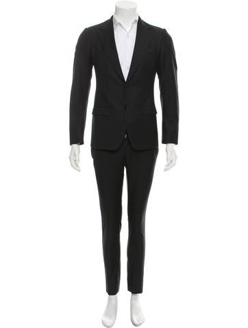 Dolce & Gabbana Wool Two-Button Suit None