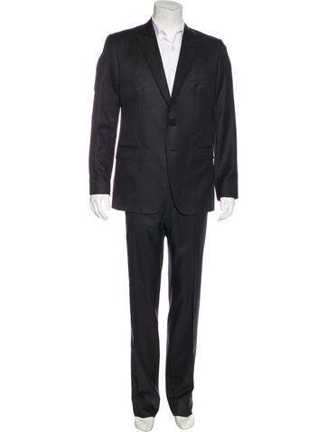Dolce & Gabbana Wool & Silk Suit None