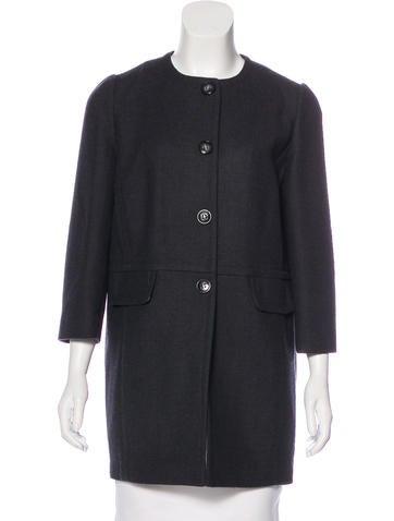 Dolce & Gabbana Wool Short Coat None