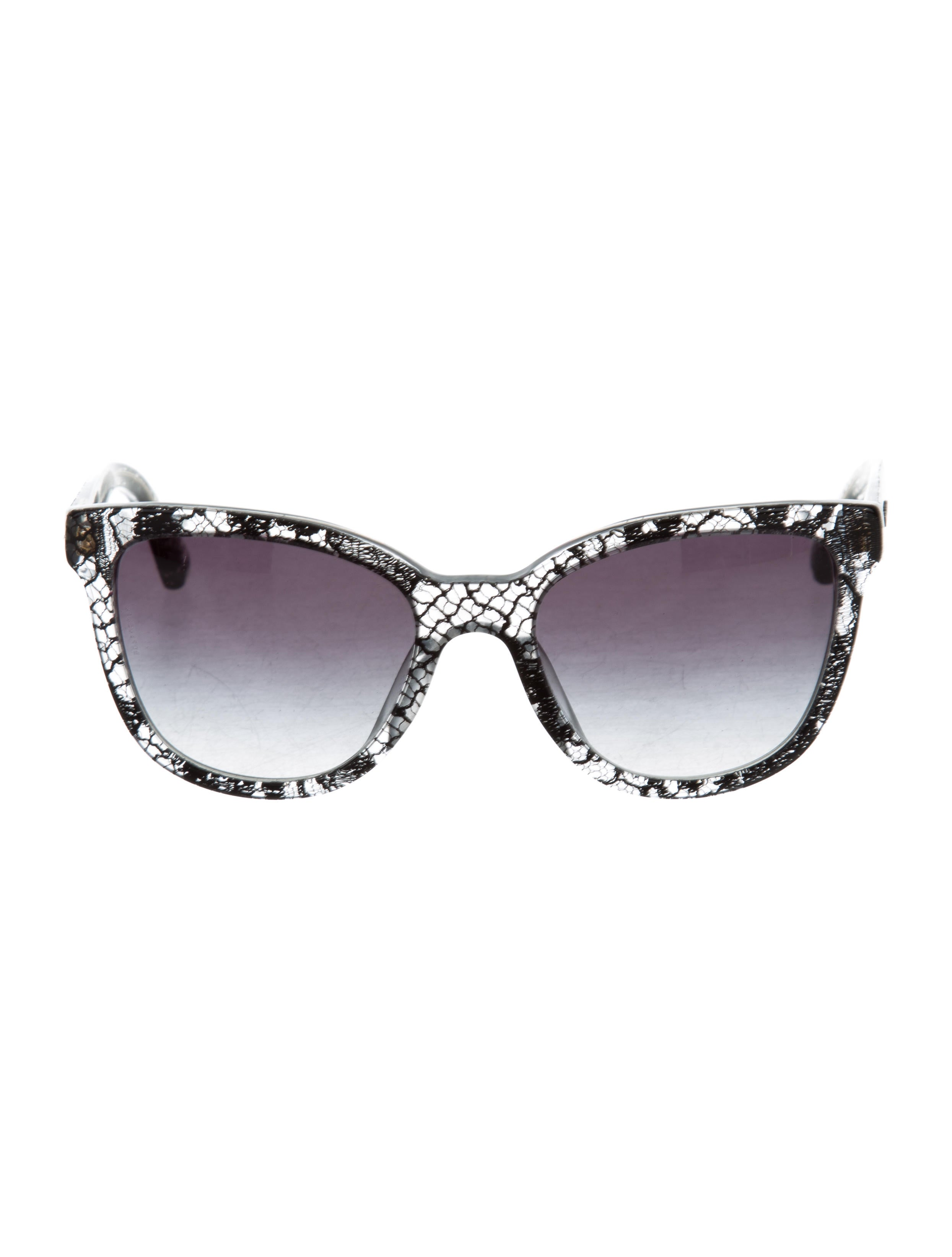 35ac750ff82f Dolce And Gabbana Classic Cat Eye Sunglasses