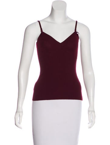 Dolce & Gabbana Wool Sleeveless Top None