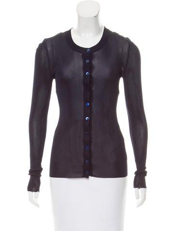 Dolce & Gabbana Button-Up Long Sleeve Cardigan None