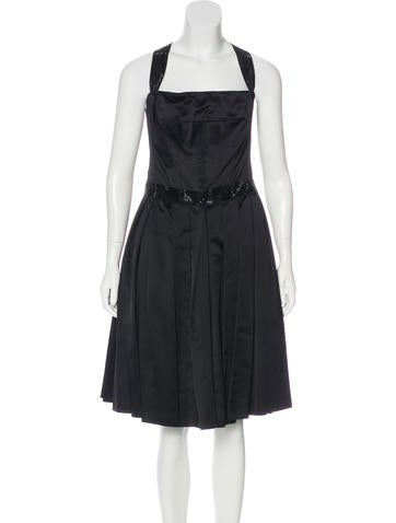 Dolce & Gabbana Embellished Midi Dress w/ Tags None