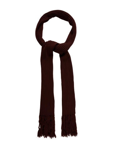 Dolce & Gabbana Fringe-Trimmed Wool Scarf None
