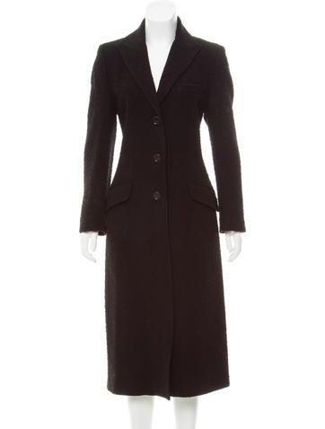 Dolce & Gabbana Distressed Wool Coat None