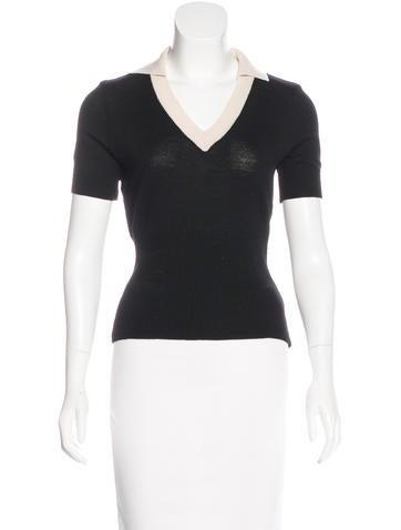 Dolce & Gabbana Short Sleeve Wool Top None