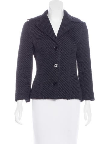 Dolce & Gabbana Wool Quilted Jacket None