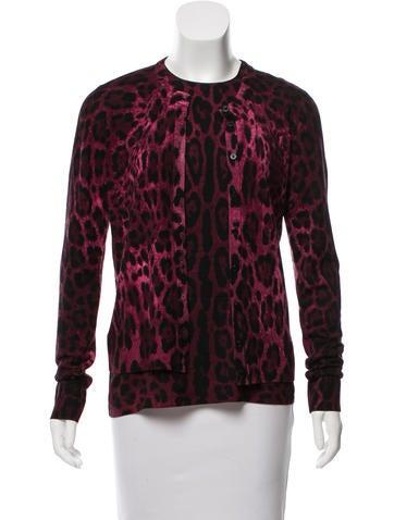 Dolce & Gabbana Silk & Virgin Wool Cardigan Set None