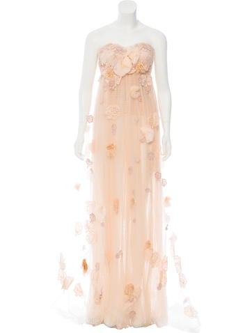 Dolce & Gabbana Embellished Tulle Gown w/ Tags None