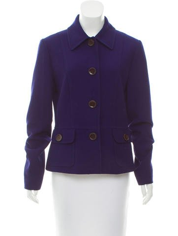 Dolce & Gabbana Wool Long Sleeve Blazer None