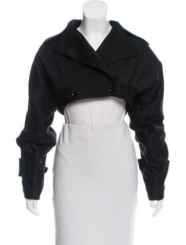 Dolce & Gabbana Cropped Wool Jacket None