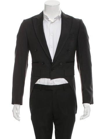 Dolce & Gabbana Virgin Wool Double-Breasted Blazer None