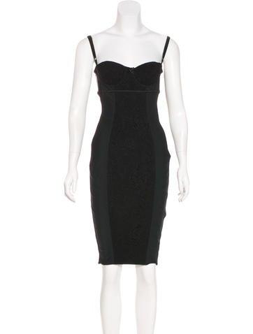 Dolce & Gabbana Sleeveless Bustier Dress None