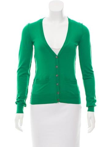 Dolce & Gabbana V-neck Cardigan Sweater None